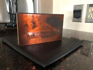Purcell And Elmslie Congregational Church Community House Copper Print Block