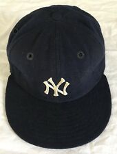 BILLY MARTIN CIRCA 1978-79 GAME USED NEW YORK YANKEES HAT DIRTY GREY FLANNEL COA