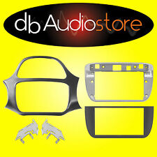 Phonocar 3/750 Mascherina Autoradio 2DIN Nero lucido Fiat Punto 12> Punto Evo