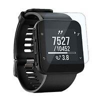StrapsCo Tempered Glass Smartwatch Screen Protector - Garmin Forerunner 35 Watch
