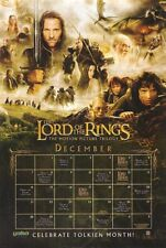 LORD OF THE RINGS TRILOGY MOVIE POSTER 1 Sided ORIGINAL  27x40