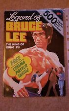 bruce lee, the legend of bruce lee, film  magazine. very good condition.