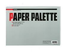 Paper Palette Shinhan 350x250mm 25Sheets for Watercolour Acrylic Oil Paint