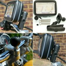 Waterproof GPS SatNav Motorcycle M8 Extended Handlebar Top Clamp Mount
