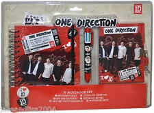 One Direction 1D Notebook Set Stationery Brand New Gift - RRP £24.99