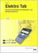 Elektro TAB: Formeln und Tabellen für Elektonik- und Mec... | Buch | Zustand gut