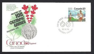 Canada  # 682   Kingswood Olympic Ceremonies Cover    New 1976 Unaddressed