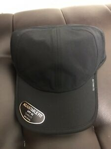 "ADIDAS Hat Cap ClimaLite ""SuperLite"" Men Women Run Team  Adjustable Black"