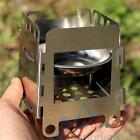 Portable Lightweight Folding Wood Stove Outdoor Cooking Camping Stove