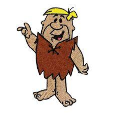 Flintstones Character Barney Rubble Craft Patch Classic Cartoon Iron-On Applique