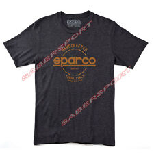 """""""IN STOCK"""" AUTHENTIC SPARCO APPAREL """"HANDCRAFTED"""" T-SHIRT BRONZE - SIZE- SMALL"""