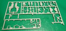 A57CBA 283 1957 CHEVY ENGINE W/ 3 sp trans SET 1/25 Model Car Mountain