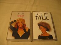 ***SALE*** KYLIE MINOGUE CASSETTES - KYLIE / ENJOY YOURSELF