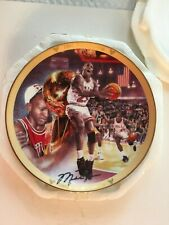 Michael Jordan Collectors Plate,1991 Championship Limited Edition original box