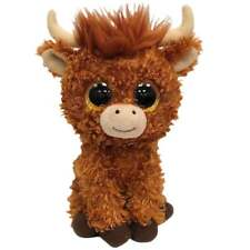 TY Beanie Boo Angus Highland Cow Small Plush Soft Toy New 36659