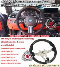 Steering Wheel (Carbon) w/ Alcantara Fit BMW F80 (M3) F82/F83 (M4) F87 (M2)