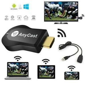 Wireless M4 Plus Anycast WiFi Display Dongle 1080P Media Player Airplay Miracast