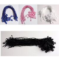 1000pcs Garment Tag Hang Tag String Lock Fastener for Clothing Label Tagging DIY