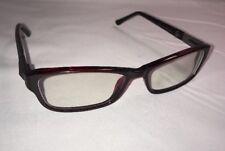 Womans Designer Wine Eyeglasses Frames 54[] 15 140