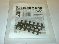 Fleischmann 6433 HO Isolier Schienenverbinder 12 Stück
