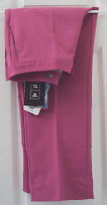 NEW TAG! ADIDAS 6 DARK PINK 'CLIMA-COOL PRO-DRY PLUS' CROPPED SHORT PANTS $75.00