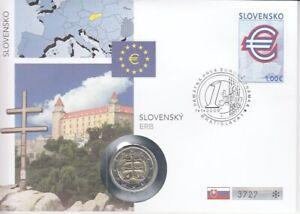 Numisbrief  Slowakei  2009