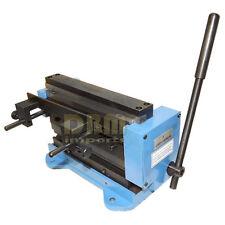 "Compact Manual 8"" Mini Shear Metal Brake Bender Cutter Cutting Combo 18 20 Gauge"