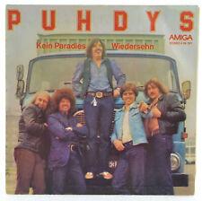 """PUHDYS - Kein Paradies / Wiedersehn  - AMIGA 456391 - 7"""" Single - DDR 1979"""