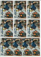 2020 Topps Chrome BRENDAN McKAY Rookie Update Preview LOT (x10) Rays RC UP-2