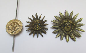 French Sunburst Clock Pendulum - Antique Reproduction -  Bob & Rod - 3 Sizes!