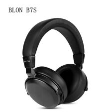 BLON B7S HiFi Music Wooden Headphones Noise Cancelling Monitor Headset Earphones