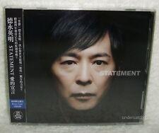 J-POP Hideaki Tokunaga STATEMENT 2013 Taiwan Ltd CD w/Bonus 2-trks