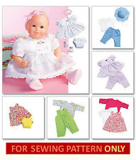 SEWING PATTERN! MAKE BABY DOLL CLOTHES FOR TINY TEARS~BITTY BABY~BITTY TWINS!