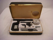 Mg Jeweled Depth Gauge Tool Case Vintage Working Great