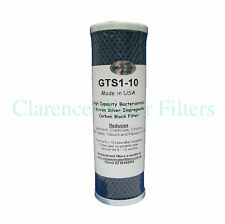 GTS1-10 SILVER IMPREGNATED CARBON WATER FILTER 1 MICRON