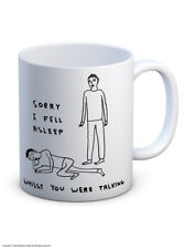 David Shrigley Mug Cup Tea Coffee Funny Comedy Humour Amusing Novelty Gift Joke