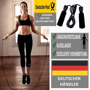 Profi Springseil Kugelgelagert Sprungseil Jumping Rope Seil Seilspringen Fitness