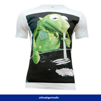Men's Muppet Kermit The Frog Cocaine Funny Rude T-Shirt, Fitted or Classic Style