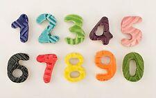 "3/4"" Ceramic Mosaic Number Tiles - Set of 10"