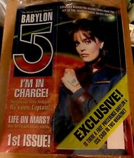 Babylon 5 Magazine #1 August 1998 B5's New Captain Tracy Scoggins