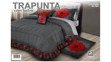 Trapunta matrimoniale con balza marta marzotto piumone invernale letto caldo.