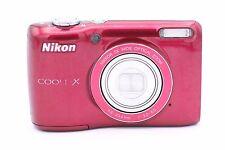 Nikon COOLPIX L26 16.1 MP Digital Camera - Red
