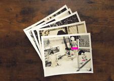 KOSHOKU TOMEI NINGEN lot 5 lobbycards - NIKKATSU 1979 pinku eiga homme invisible