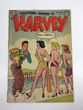 Everything Happens to Harvey #1 (DC comics 1953) RARE Low Grade-see photos
