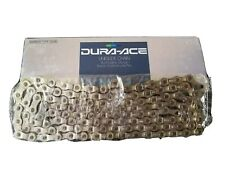 NOS Shimano Dura Ace 7400 Uniglide 8-speed Silver Bicycle Chain 116L *Rare