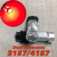 Rear Turn Signal Parking Light Red CANBUS LED Bulb 3057 3157 4157 SRCK 21 W1 HA