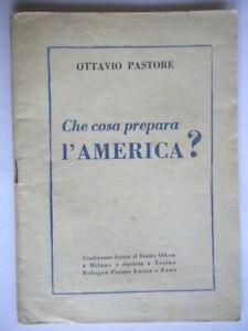 che cosa prepara l'america? Conferenza odeon milano Pastore ottavio politica 47