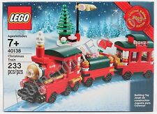 NEW 2015 LEGO Limited Edition Promo Christmas Train 40138 Building Toy Set