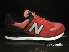 New Balance ML574TTB Men's Red/Black/Silver Running Casual Shoes US 8.5 EUR 42