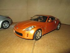 Nissan 350Z  tuner 1/18 SPECIAL EDITION brown hot wheels loose display piece